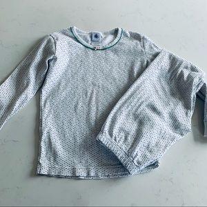 Petite bateau girls cotton pajamas